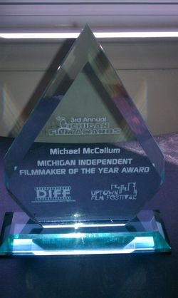 Michigan Independent Filmmaker Of the Year 2012